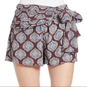 """Free People """"All A Dream"""" Wrap Shorts"""